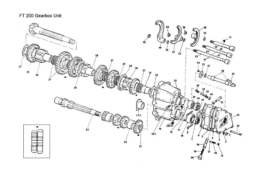 FT 200 Transmission Section | Taylor Race Engineering
