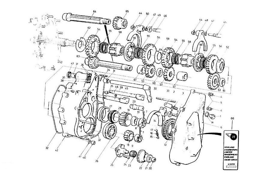 LD 200 Transmission Section | Taylor Race Engineering