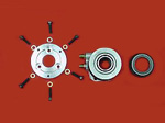 "ANNULAR SLAVE CYLINDER KIT FOR FORMULA FORD 16OO USING 7.25"" RACING CLUTCH (TILTON, AP OR QUARTERMASTER)"